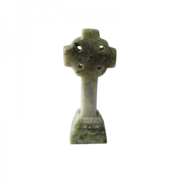 Connemara Marble Celtic Cross - 2.5 ins x 1.25 ins Occasions