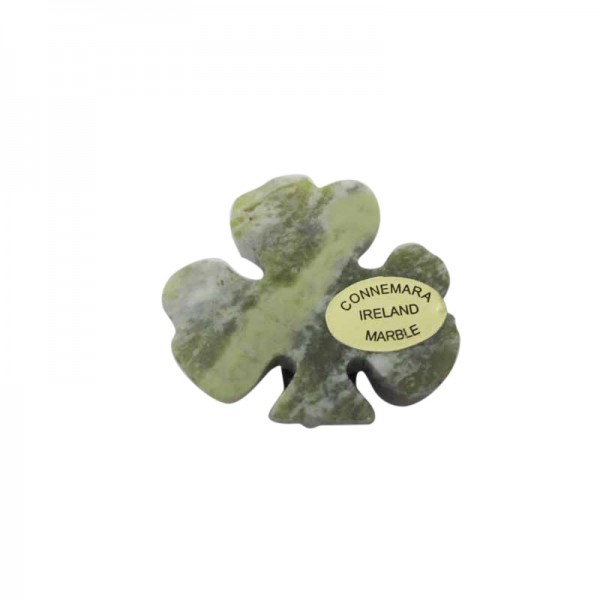 Irish Shamrock Magnet - Connemara Marble - Small