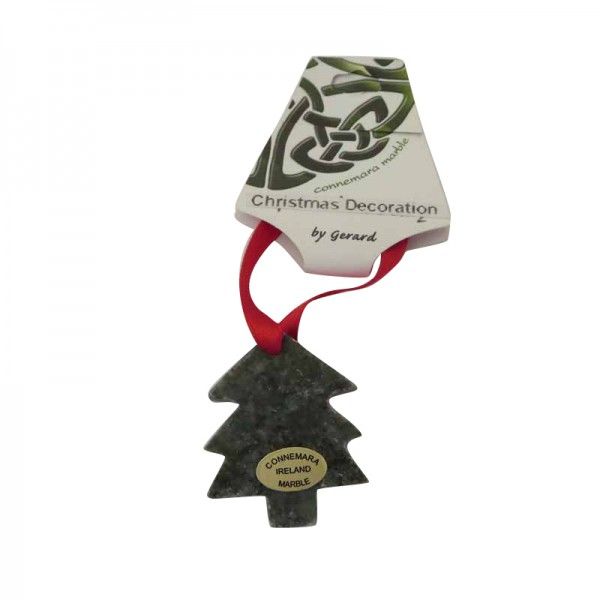 Irish Christmas Decoration - Connemara Marble - Tree
