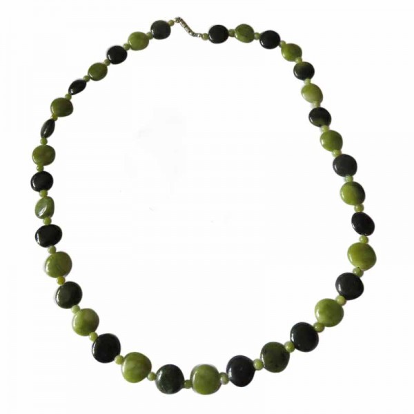 Irish Connemara Marble Necklace - Round Beads Irish Birthday Gifts