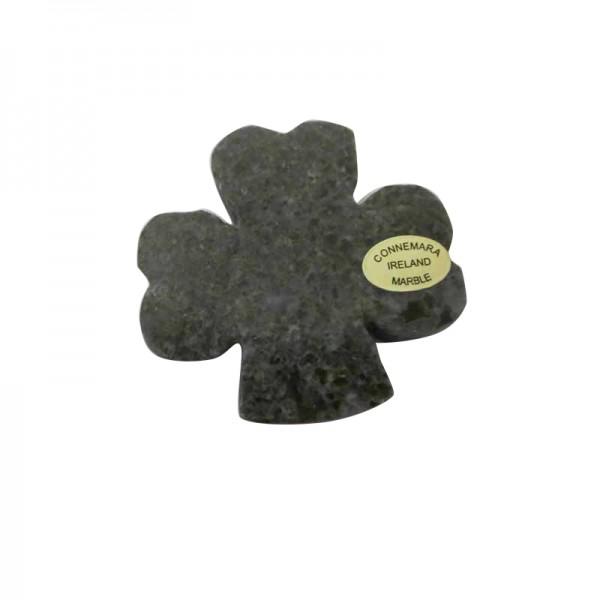Irish Shamrock Magnet - Connemara Marble