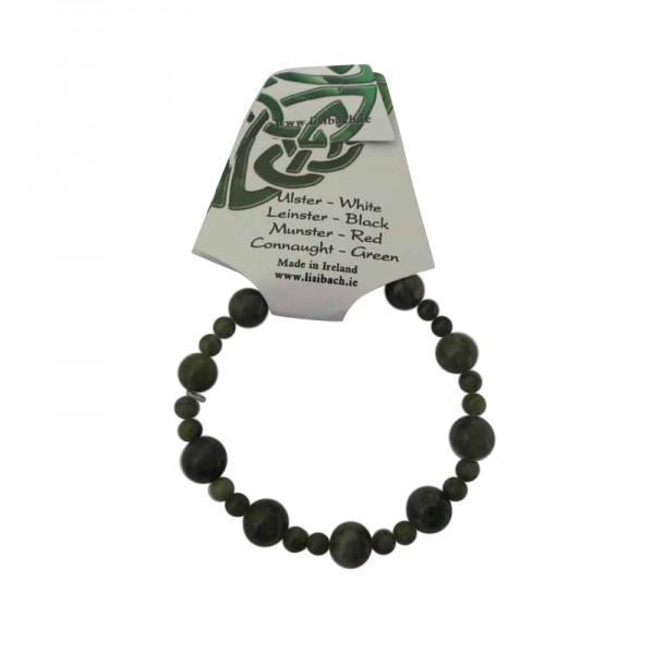 Rosary Stretch Bracelet - Connemara Marble