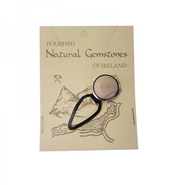 Irish Bookmark - Ulster White Marble