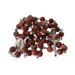 Irish Rosary Beads - Cork Red Marble