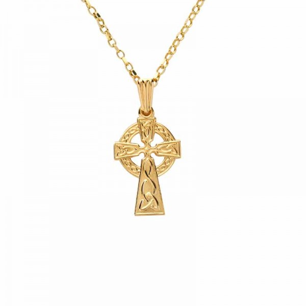 Celtic Cross 10 Karat Gold - Small Size Occasions