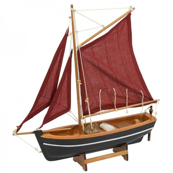 Galway Hooker Replica Sail Boat Fishing & Outdoors