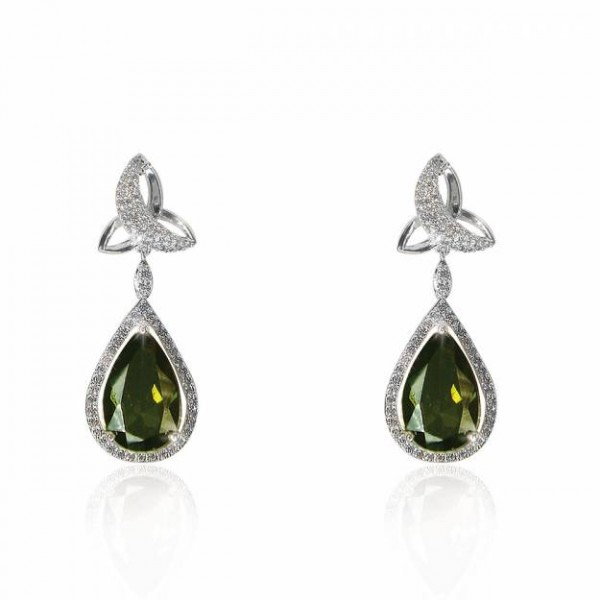 Trinity Earrings - Maureen O Hara - Silver Plated Occasions