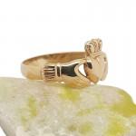 Irish 9 Karat Gold Claddagh Ring - Lightweight