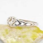 Irish Silver Celtic Knots Ring