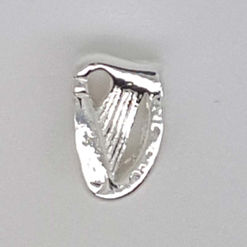 Sterling Silver Irish Harp Charm For Pandora Style Bracelet
