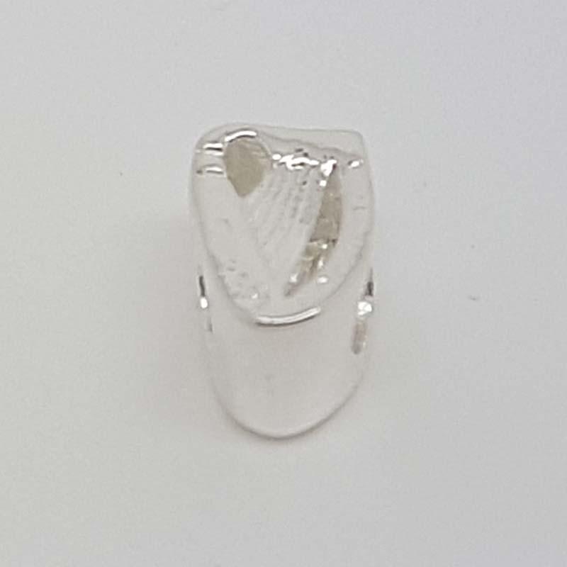 56b506d9df543 Sterling Silver Irish Harp Charm for Pandora style Bracelet