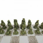 Irish Leprechaun Chess Set - Made in Ireland