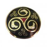 Celtic Enamel Brooch - Book of Kells