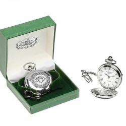 Irish Pocket Watch - Claddagh - Mullingar Pewter