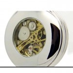 Mechanical Pocket Watch - Irish Harp - Mullingar Pewter