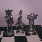 Irish Pewter Chess Set - Mullingar Pewter - Made in Ireland