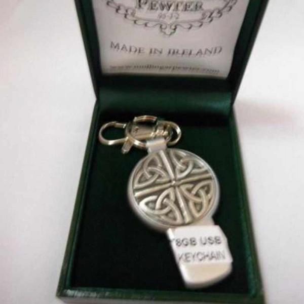 Irish USB Flash Drive Memory Stick 8GB - Trinity - Mullingar Pewter Irish Bar/Guinness