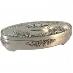 Irish Jewellery Box - Claddagh - Oval