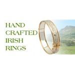 Corrib Claddagh Narrow Band Wedding Ring - Sterling Silver