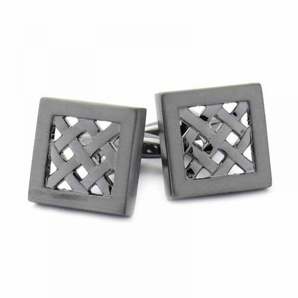 Celtic Weave Cufflinks - Celtic Knots