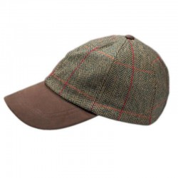 Tweed Baseball Cap - Hatman of Ireland
