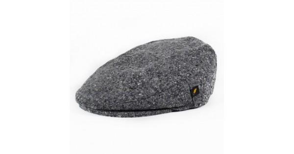 7ea06ed86b12fe Donegal Tweed Flat Cap - Salt and Pepper Grey