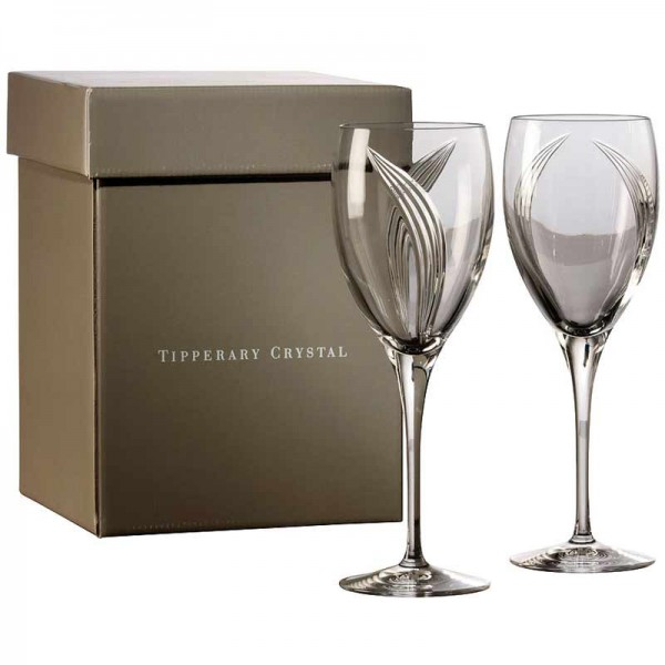 Tipperary Crystal Red Wine Glass - Set of 4 - Pearl