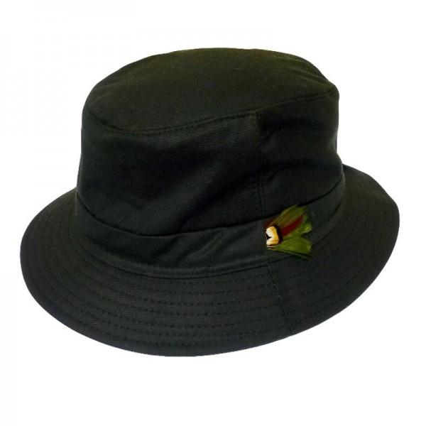 Waxed Bilberry Hat - Green Wax